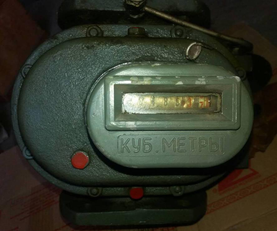 Счетчики газа РГ-100, зображення 1