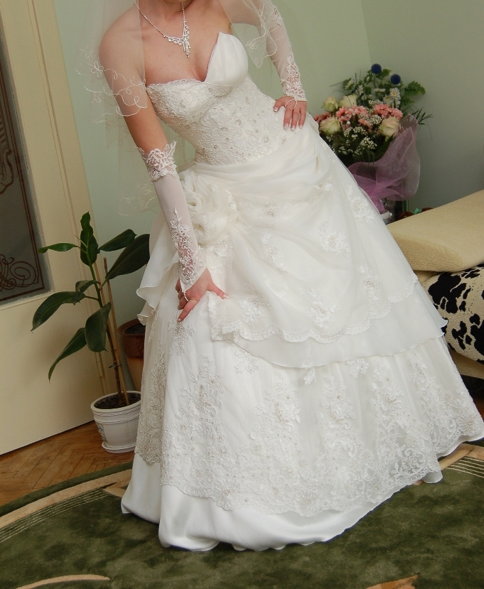 Весільна сукня від Оксани Мухи, зображення 1